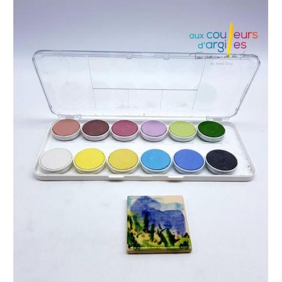 Palette 12 aquarelles