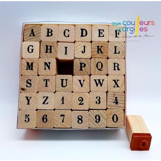 Set Tampons Alphabet Majuscule