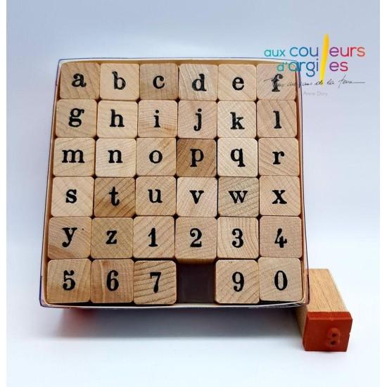 Set Tampons Alphabet Minuscule
