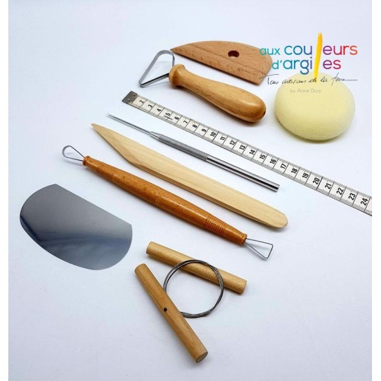 Set de potier (8 outils)