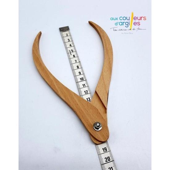 Compas en bois 180mm