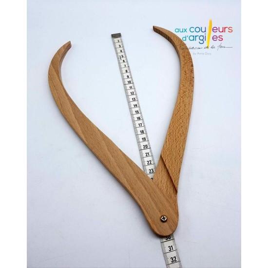 Compas en bois 300mm