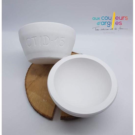 Moule demi-sphère 15cm