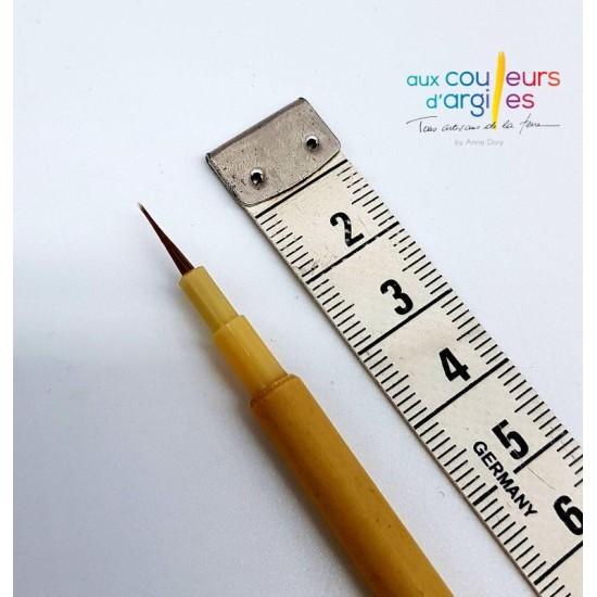 Fin pinceau 9mm/1.4mm diam