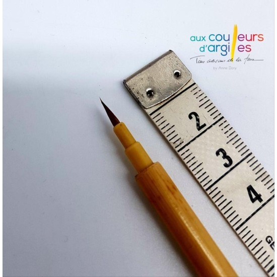 Fin pinceau 7mm/1.4mm diam