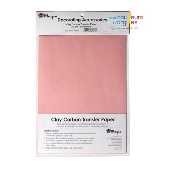Feuille de papier carbone...