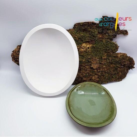 Assiette ovale 30cm/26cm