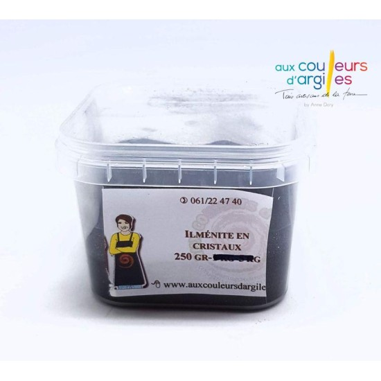 Ilménite en cristaux 250g