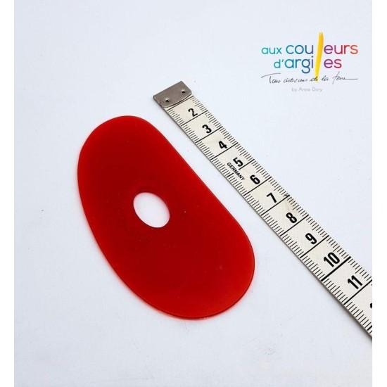 Estèque rouge très souple 9cm