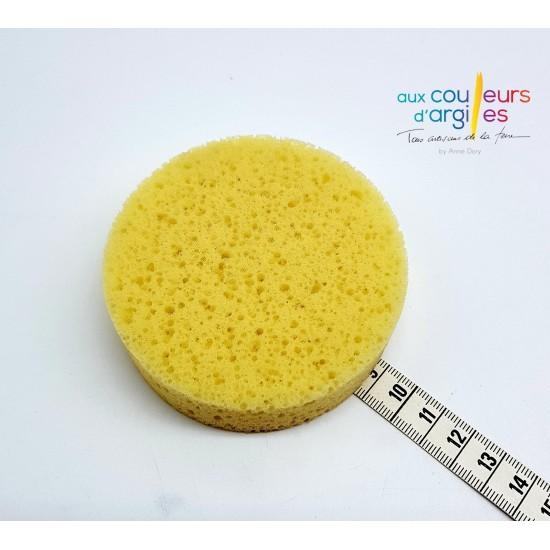Eponge ronde 9cm diam/2.5cm...