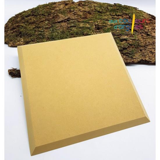 Moule en bois carré 25 cm